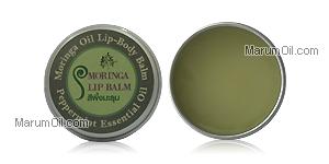 Moringa Lip Balm peppermint สีผึ้งมะรุม เปปเปอร์มิ้นต์